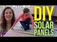 DIY Build Solar Panels 1/2: Homemade from Scratch - YouTube