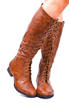 lovely lace up boots