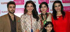 Photos - Kajal Aggarwal Launches Neerus Biggest Showroom in Vijayawada