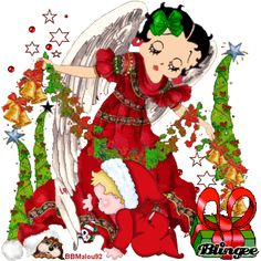 "betty boop ""christmas"""