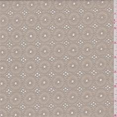 Cocoa Tan Eyelet - 39475   Fashion Fabrics