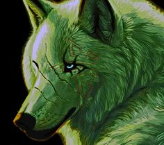 Wolf art from Zedge Wallpapers