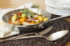 Pariser Gnocchi mit Thymian und Tomaten