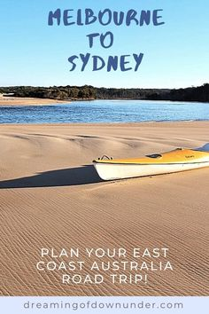 Plan your Melbourne to Sydney Australia road trip with this detailed drive itinerary that includes the best things to do in New South Wales and Victoria Australia, accommodation, petrol and the top attractions for your Australian travel adventure! #australia #travel #roadtrip Coast Australia, Australia Travel, Sydney Australia, Western Australia, Australian Photography, Ocean Photography, Photography Tips, Cities In Wales, Sydney Beaches