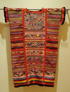 Chinantec Huipil Mexico by Teyacapan, via Flickr