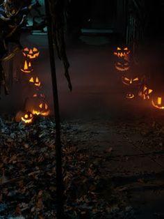Pumpkin Rot's Halloween setup #pumpkins #yardhaunt