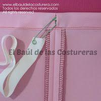 Fruncir con Elástico en Jareta - Sewing Lesson | EL BAÚL DE LAS COSTURERAS