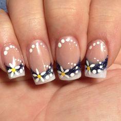 Summer nail art I did on myself