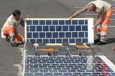 Planned Solar Roadway in France Will Cover 600 Miles With Photovoltaic Panels Solar House Numbers, Wire Installation, New Inventions, Architectural Digest, Sustainable Design, Renewable Energy, Architecture, Solar Panels, Solar Power