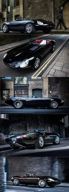 Eagle Speedster, modern Jaguar E-Type Roadster redesign and build Automobile, Auto Retro, Cabriolet, Jaguar E Type, Car Wheels, Future Car, Sexy Cars, Amazing Cars, Car Car