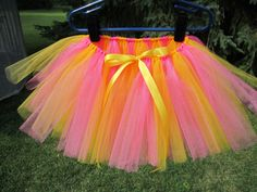 Pink Lemonade #Tutu size 2T by #JazzyGDesigns on #Etsy, $20.00