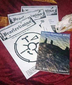 Praeterlimina Zine Bundle _ Occult, Hyperstition, Supernatural, Lovecraftian, Demonology, History Occult, Zine, Pseudo Science, Human Condition, Conspiracy Theories, Mythology, Weaving, My Arts, History
