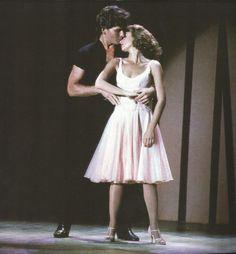 Jennifer Grey dans les bras de Patrick Swaize, Film Dirty Dancing