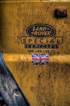 #LandRover Special Vehicles badge