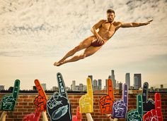 Must-See: 23 Hot athletes featured in Body Issue 2017 - Fashionably Male Julian Edelman, Olympic Volleyball, Soccer, Kerri Walsh Jennings, Gus Kenworthy, Body Issues, American Football Players, New England Patriots, Espn