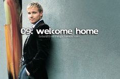 Brian Littrell - Welcome Home.