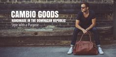 A social enterprise in the Dominican Republic geared towards improving the quality of life for local families, through creation of hand crafted leather products