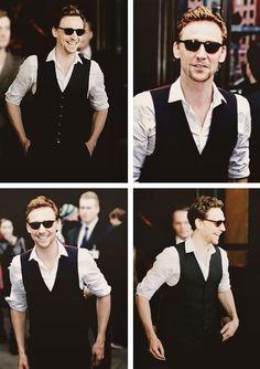 Tom Hiddleston. Intermediate Hair? Or just really red?