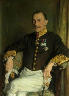 The Right Honourable Sir Dennis Henry Herbert (1869–1947), Lord Hemingford, 1944 by George Harcourt (Scottish 1868-1947)