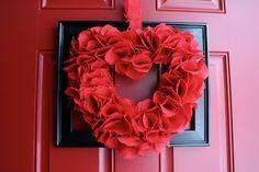Antsi-Pants: Red Burlap Wreath