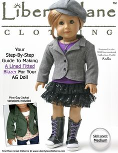 Inspiration for doll clothes to make.