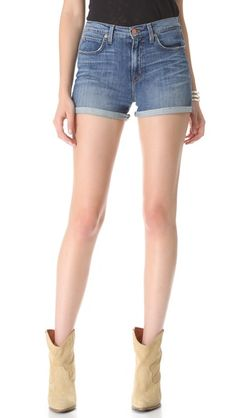 shopbop - j brand high rise shorts ($176)