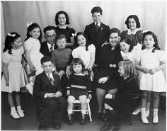 dionne quintuplets | Dionne Family. 1939 by Nicole Abrahão
