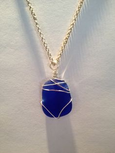 sea glass - beautiful blue