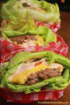 Lettuce-Wrapped Cheeseburgers | 29 Fresh And Crunchy Lettuce Wraps For Hot Summer Nights
