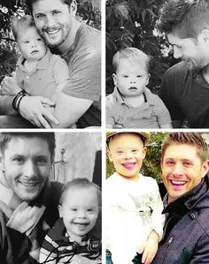 Jensen and nephew Levi,so cute!