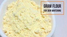 Gram Flour For Skin Whitening Gram Flour, Coconut Oil For Face, Unclog Pores, Skin Treatments, Clear Skin, Healthy Hair, Skin Care, Weapon, Natural Beauty