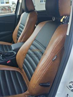Mazda 6 individuelle Autositzbezüge nach Maß vor der Montage, Lederlook Mazda 6 Sitzbezüge mit Quernaht eingearbeitet. #designbezuege #designbezuege nach maß #Mazda 6, #Mazda Sitzbezüge, #Mazda Tuning