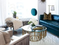 On Trend: 2013 Peacock colors for interiors, Gold and Art Deco are also making a strong statement.  greige: interior design ideas and inspiration for the transitional home