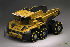 Annis Naeem Concept Art - Looks like a Really Cool Tonka Truck by penny Future Trucks, Future Car, Concept Art World, Engin, Truck Design, Design Cars, Heavy Machinery, Futuristic Cars, Transportation Design