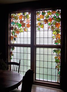 Stained Glass Window, Kentucky Farmhouse, 8 x 10 fine art photo