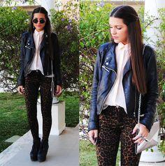 leopard skinnies!