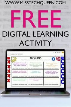 Are you looking for a FREE digital STEM activity for your elementary students? Try my digital Tic-Tac-Stem! Your students will love this engaging activity that can be used in the classroom or for distance learning.
