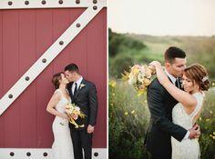 Zwei Varianten für Hochzeitsfotos - mitten in der Natur