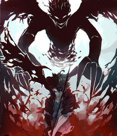 What are the Pros and Cons of Black Clover becoming a famous Anime? - What are the Pros and Cons of Black Clover becoming a famous Anime? Anime Love, Fan Art Anime, Anime Guys, Manga Anime, Otaku Anime, Manga Art, Dark Fantasy Art, Demon Manga, Character Art