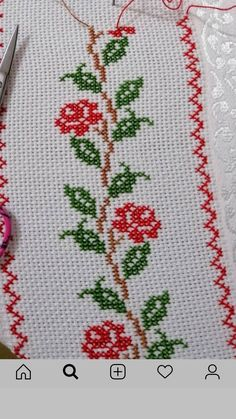 Cross Stitch Bookmarks, Cross Stitch Rose, Cross Stitch Borders, Cross Stitch Flowers, Cross Stitch Designs, Cross Stitching, Cross Stitch Embroidery, Cross Stitch Patterns, Minecraft Skins