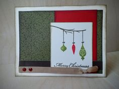 CTMH Pear and Partridge WOTG card kit Christmas card. Christmas Cards, Merry Christmas, Partridge, Card Kit, Pear, Card Ideas, Card Making, Paper Crafts, Scrapbook