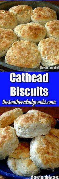My mother made cathead biscuits almost everyday. Cathead biscuits are a tradition in my family and a family favorite. Your family will love them too.