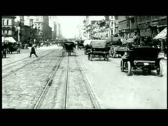 """""""Time is the Enemy"""" by Quantic // The music is downtempo electronic, but it incorporates the sound of horse and carriage. The music video is also historical film footage of San Francisco in 1905, which pairs up quite well with the rhythm of the music."""