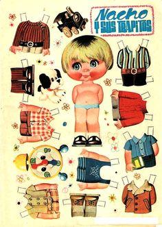 Aqui os dejo unos recortables de las muñecas de FAMOSA.    Esos entrañables que se usaban por que no nos podian comprar todas la muñecas y c...