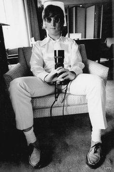 John - looking cool as always!