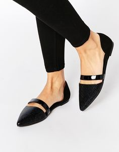 ASOS COLLECTION ASOS LISBON Ballet Flats - Click link for product details :)