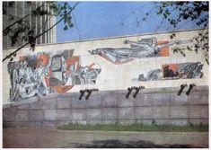 33 плюс 1 \ Монументально-декоративное искусство разных стран \ Росписи на фасадах в США