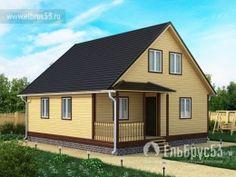 Дома из бруса | ЕльБрус53 — производственно-строительная компания