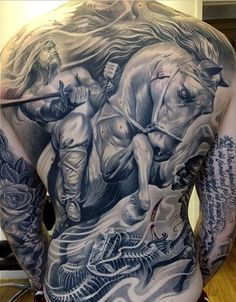 Awesome back tat