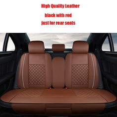 41.39$  Watch here - http://aliqco.worldwells.pw/go.php?t=32784695617 - 4 pcs Leather car seat covers For Dacia Sandero Duster Logan car accessories styling 41.39$